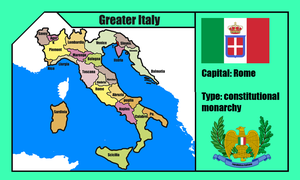 Ggreater italy (mapping) by DimLordofFox