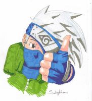 Kakashi- Traditional by sabykhan