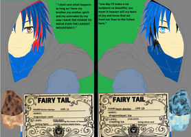 fairy tail oc leon and lexion by demonxslayer12