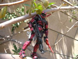 Custom Painted Deadpool/Spartan2 by PokepictureFigurefun