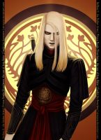 Prince Nuada from Hellboy II by AtreJane