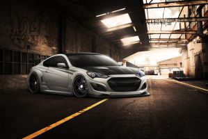 Genesis Coupe by wegabond