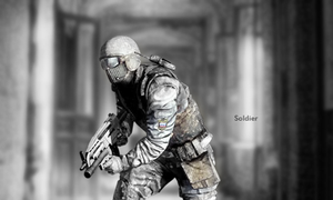 Soldier by Rizing1