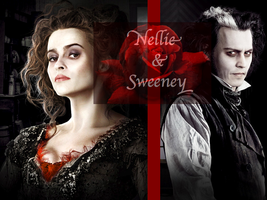 Nellie and Sweeney by JDLuvaSQEE