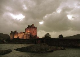 Sexy castle from Scotland by mantequillazul