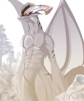Commission - Dragon Man by DeadlyObsession