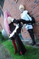 Mika and Krul Cosplay Owari no Seraph by MeenaLuna