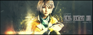 Hope Signature FF-XIII by kingsess