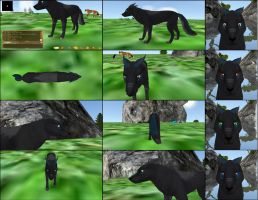 Free Wolf Preset by inuyasha1086