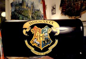 Potterhead Mail box (other side) :) by WormholePaintings