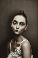 Topknot Girl by Brizzolatto55