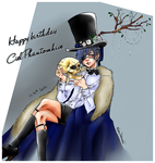 Happy birthday Ciel by AissriKawaii