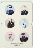 EXO Graphics. Tao 2 by kamjong-kai