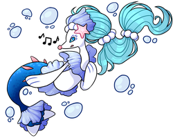Primarina by MoonstarDraws