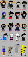 Homestuck According To Heather by yuuki-takaya