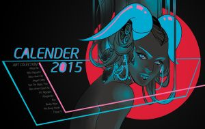 Calender 2015 cover by MieuDo