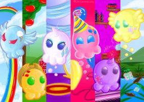 My Little Skulpies by BaGgY666