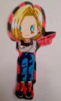 Android 18 Paper-Baby! by dbz-senpai