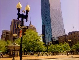 Copley Square by Eriseda