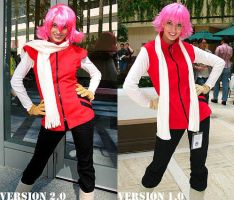 Cosplay: Haruko of FLCL by chibikat