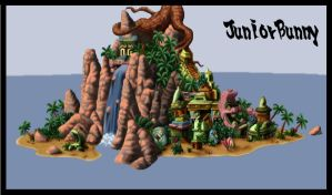 crash bandicoot map 2 by juniorbunny