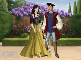 The Tudors: Snow White and Prince Charming by moonprincess22
