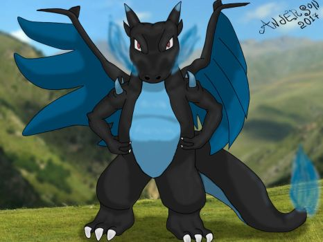 Mega Charizard by AndyGarchomp