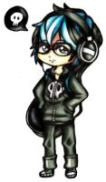 Emo Kid by CUTE-ChibiMONSTERZ