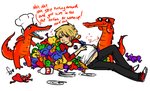 Stuffed Strider for Dinner by Squidbiscuit
