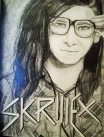 Skrillex, the Dubstep King by xxMoonwish