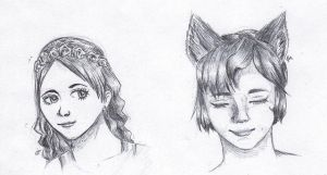 Faces by liaillii