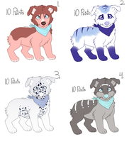 Doggy Adopt Sheet by KodiakAussieArt