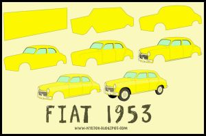Fiat 1953 by mobber