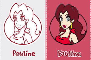 Super Mario 3d World Pauline by albertojz356