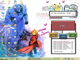 the coolest winamp skin EVER by spank-my-toaster