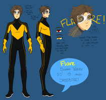 Flare - Speedster by Jellygay