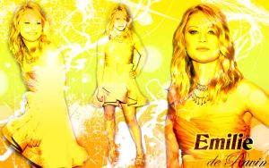 Emilie de Ravin Wallpaper 2 by CertainlyLostFameGal