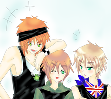 APH - england and The Irland brothers by Mi-chan4649