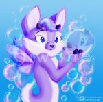 Autum Frost and the bubbles by siwone