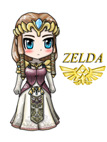 Chibi Zelda by AnimeWaterFall
