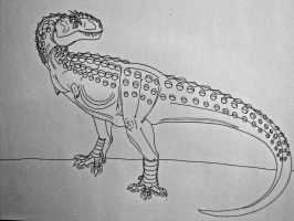 DotP Extinction Files 1: Megataurus horridus by Saberrex