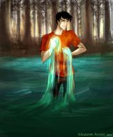 Son of Poseidon by Nikadonna
