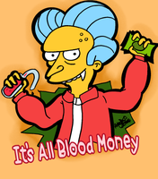 It's All Blood Money by LeeRoberts
