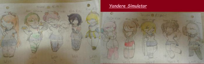 Yandere Simulator Rivals! by AquaArtist1987