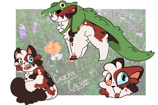 {ADOPT} CROCKY-CALICO {CLOSED} by JELLY-BOMB