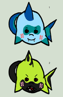 Shark Critter Adopts - Adopted by Feralx1