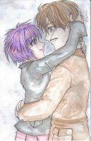 Remus and Tonks -watercolor- by Anouk-Sparrow