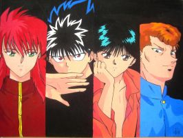 yuyu hakusho by rei-kawaii