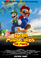 ''Super Mario Bros.'' Fan Film - Official Poster by C-E-Studio