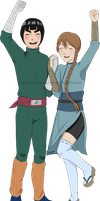 Katsu and lee by Zombie-scarecrow